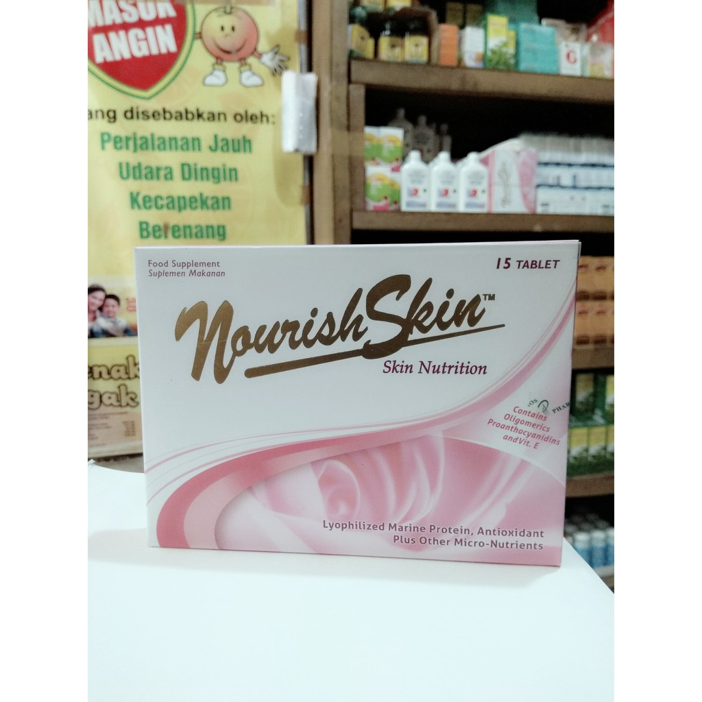 Nourish Skin Ultimate Isi 15 Shopee Indonesia