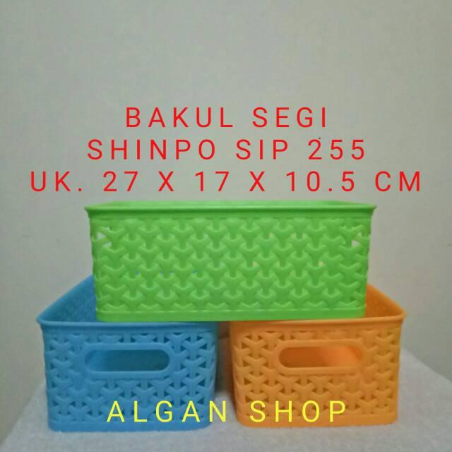 Keranjang Serbaguna Shinpo SIP 255 / Keranjang Dokumen / Keranjang Buah   Shopee Indonesia
