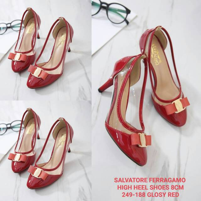 9668154508af SALVATORE FERRAGAMO FLAT JELLY SHOES T 001