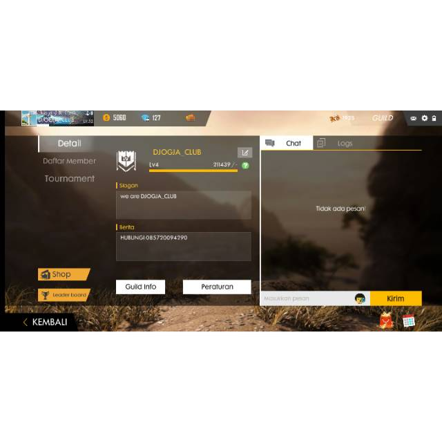 Jual Guild Level 4 Free Fire Shopee Indonesia