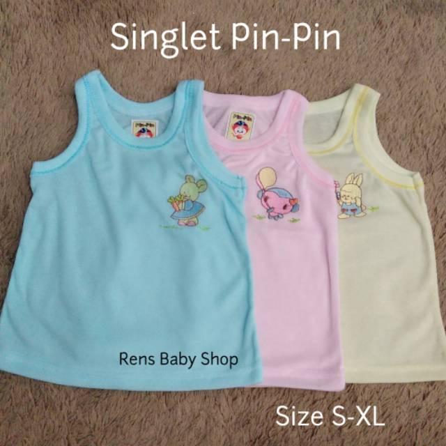 Kaos dalam putih/warna bayi baru lahir size S, M, L, XL | Shopee Indonesia