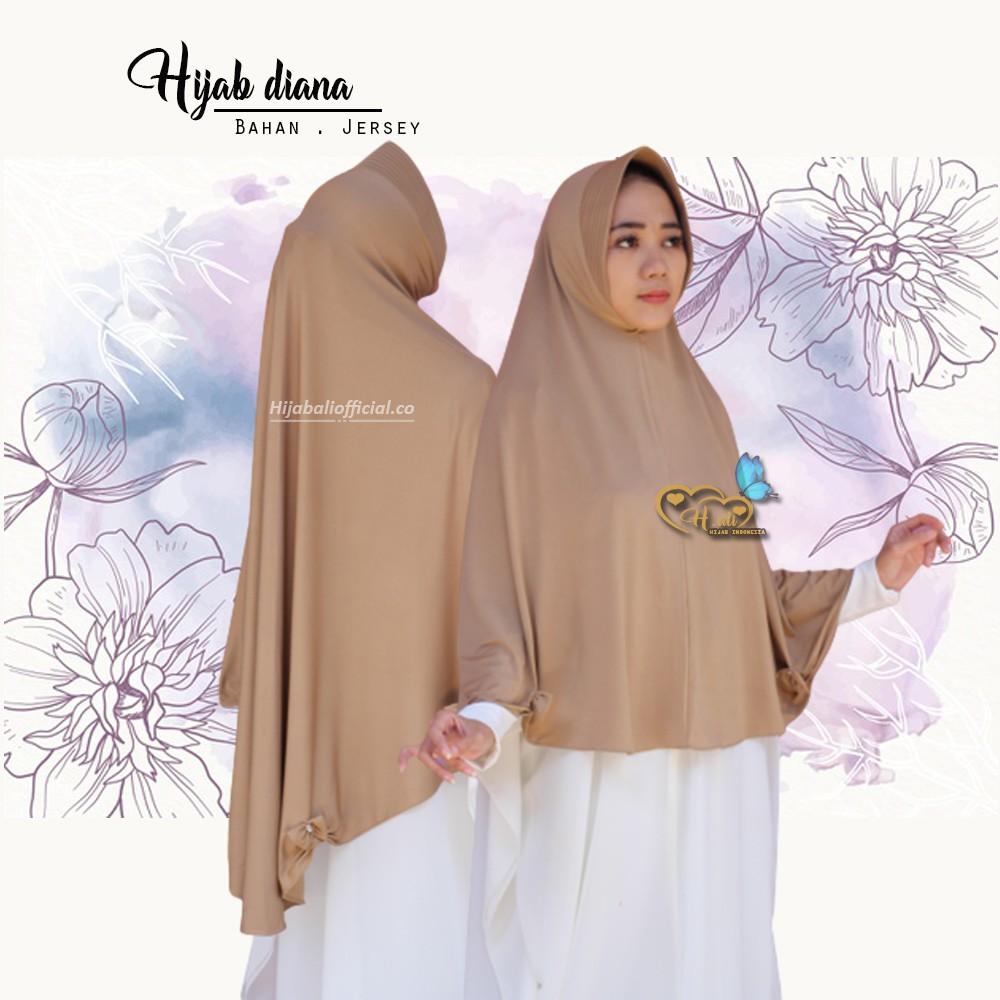 Hijab Syari Diana Q3 Jilbab Jumbo Kerudung Jumbo Khimar Jumbo Jilbab Syari Jumbo Hijab Bergo Jumbo Shopee Indonesia