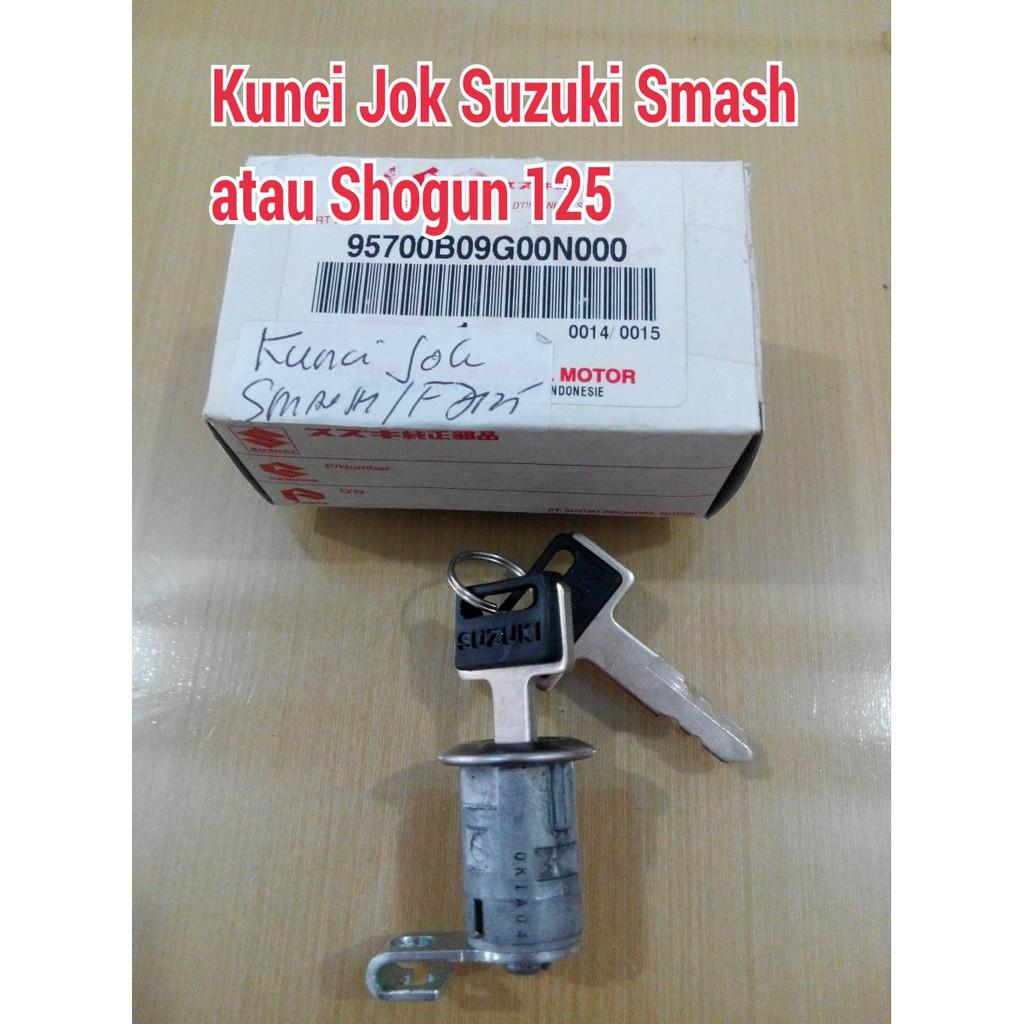 kunci konci kontak set lengkap jok suzuki smash shogun Sparepart | Shopee Indonesia