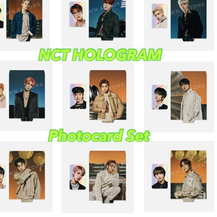 NCT Hologram photocard set RESONANCE part 1 pc holo