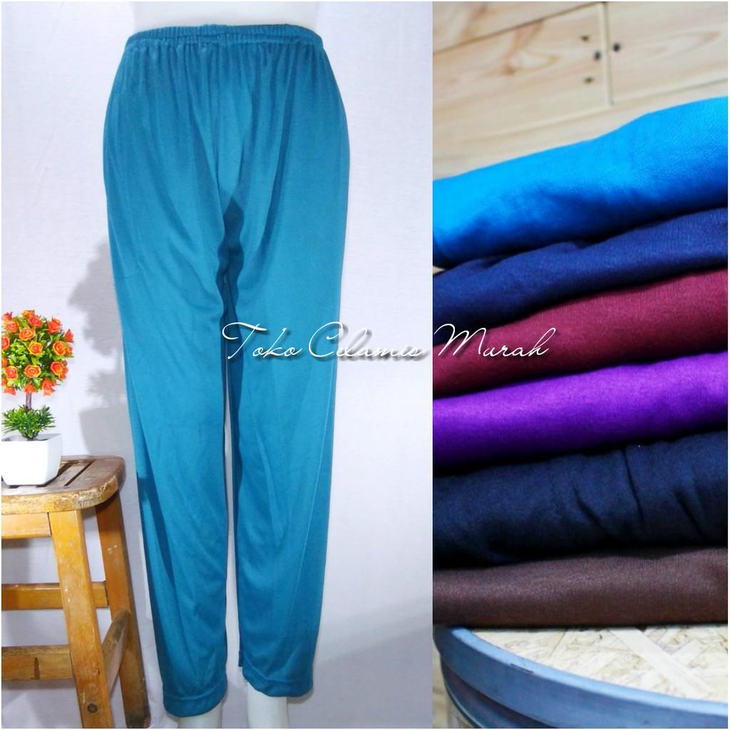 Legging Celamis Leging Celana Dalaman Gamis Xl Shopee Indonesia