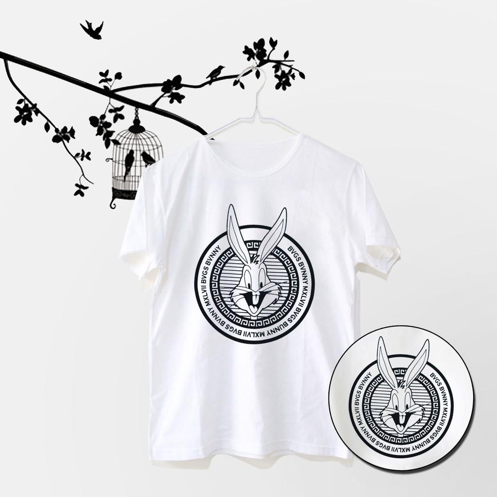 Kaos Wanita Lengan Pendek Bugs Bunny Warna Putih - ELLIPSES.INC TUMBLR TEE / TSHIRT | Shopee Indonesia