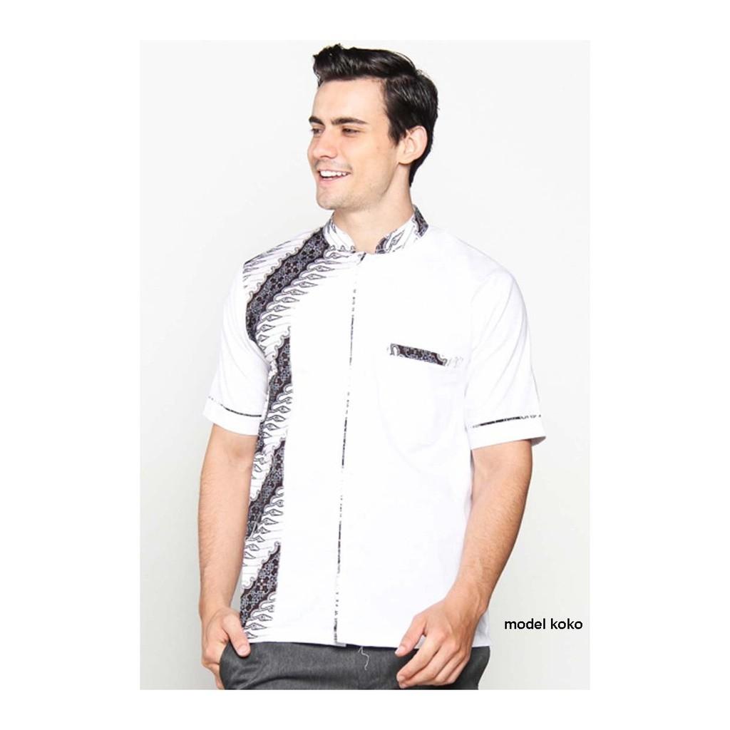 Hem Koko Batik Luqman Shopee Indonesia