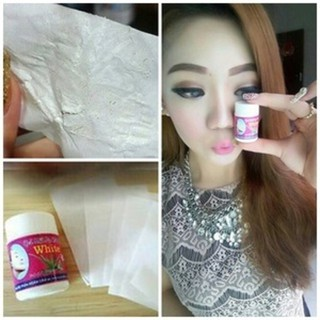 Promo Pencabut komedo / GEL MAT NA HUT MUN / HUTMUN WHITE ORIGINAL Thailand Murah