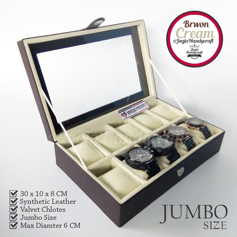 tempat jam kotak jam tangan isi 1 cocok buat kado dan souvenir ... e800902b36
