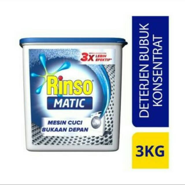 Rinso Matic Front Load 3kg Container Kembali Ke Halaman Utama Butuh