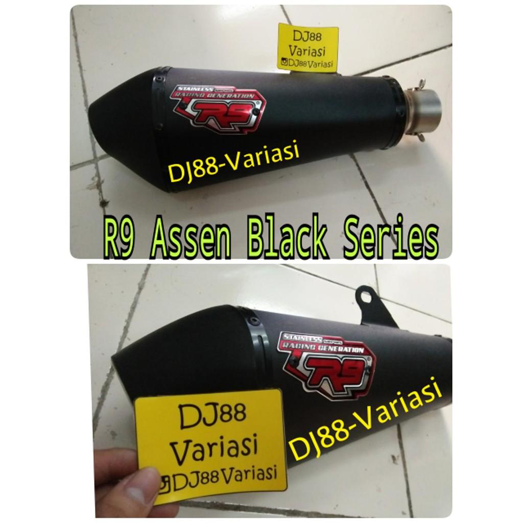 Knalpot Setandar Resing Yamaha Fizr Onderdil Murah Shopee Indonesia R9 Assen Scorpio Full System