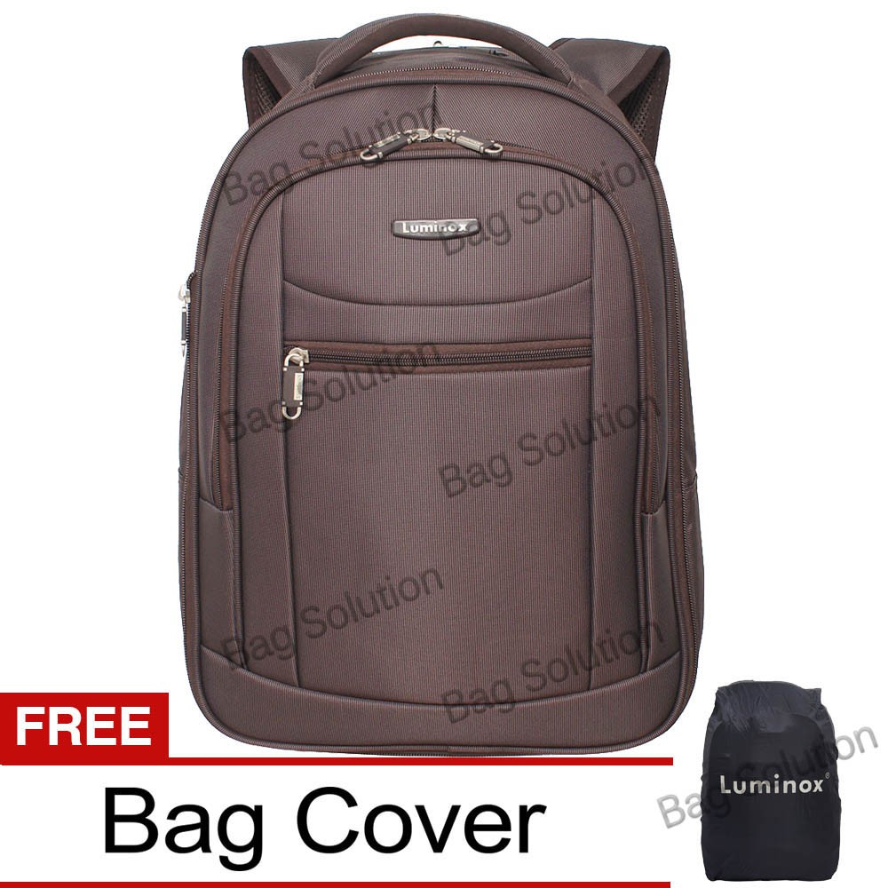 Luminox Tas Ransel Laptop Expandable Waterproof 7705 Free Bag Cover ... be77b041e3dd3