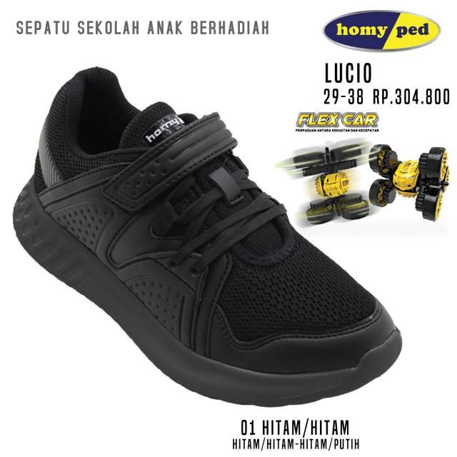 Sepatu Anak Homyped Lucio Series Original Berhadiah Mainan Mobil