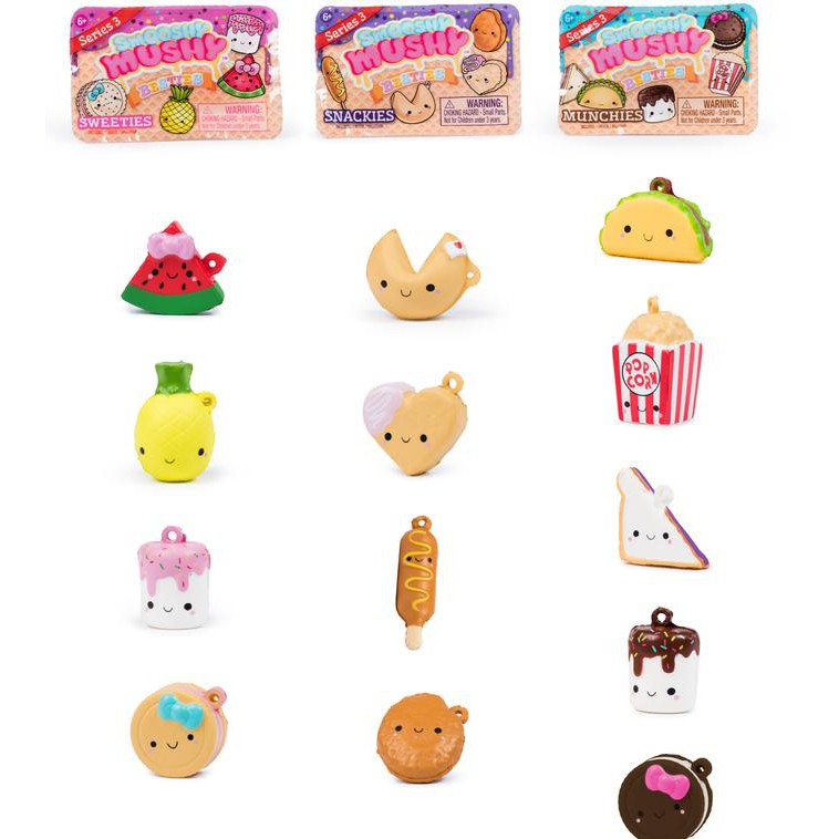Smooshy Mushy Series 2 Besties 6 Blind Bag Sweeties NEW
