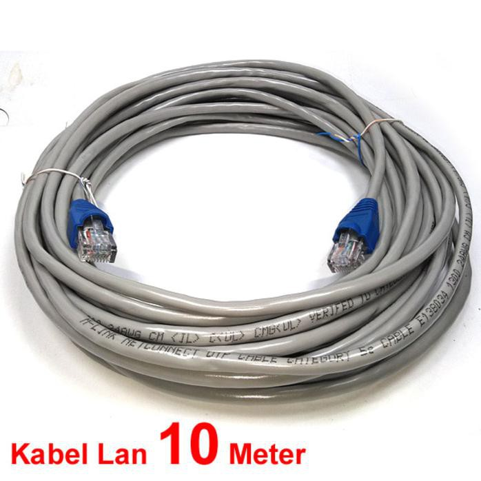 Kabel Lan 15M Cat 5E / Kabel Utp 15 Meter Pabrikan | Shopee Indonesia