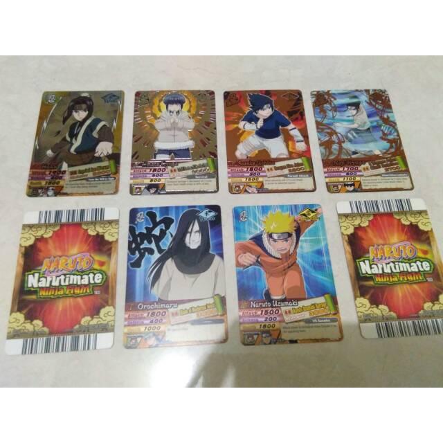 Kartu Naruto Narutimate ninja card original satuan