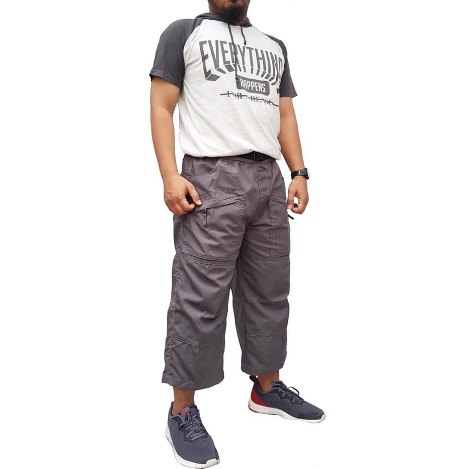 Celana Cingkrang Sirwal Pria Murah Bawahan Panjang Ikhwan Mu DM706 [New] Tactical Premium