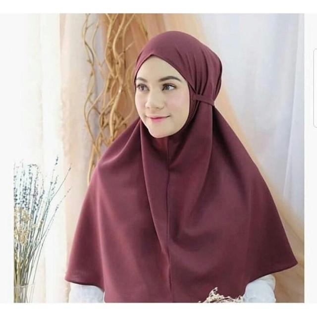 Bergo Maryam Jilbab Al Azhar Premium Instan Jilbab Talitha Hijab Asthia Hijab Instan Shopee Indonesia