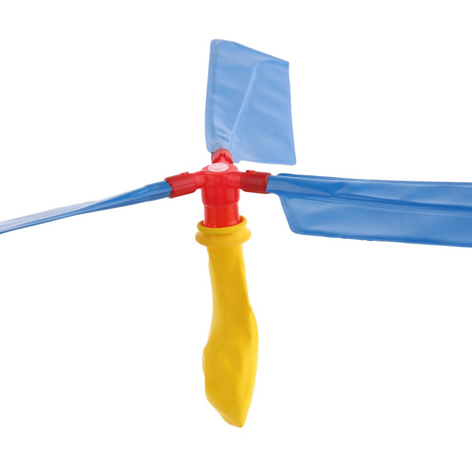 New Supplies Propeller Balloon Helicopter Portable Flying Toy For Children Kid
