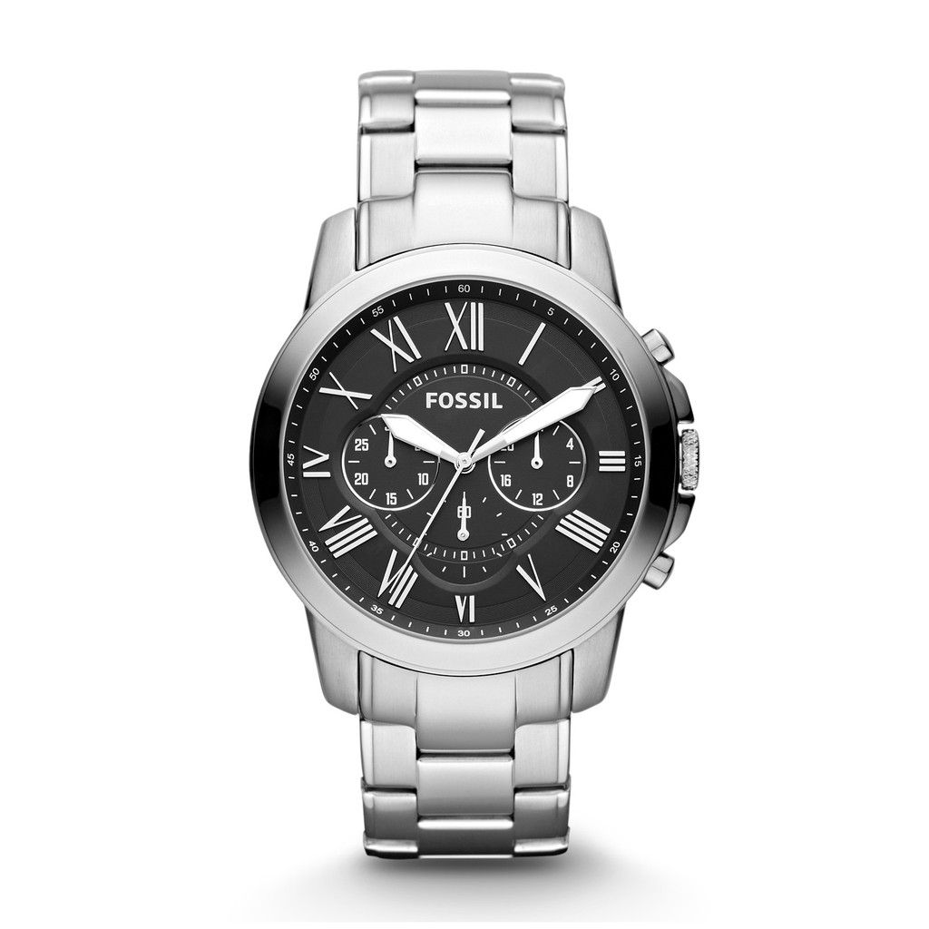 Fossil The Agent Black Round Dial Brushed And Shiny Ip Strap Ch3043 Jam Tangan Pria Hitam Fs4849 Shopee Indonesia