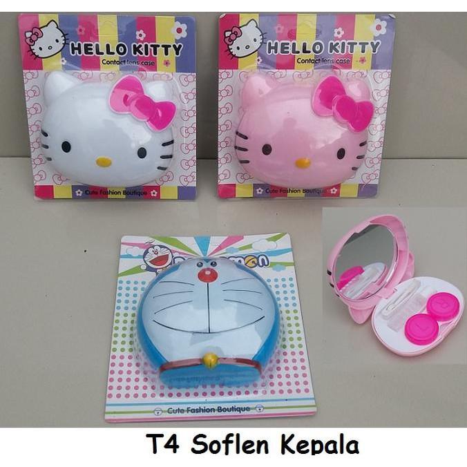 Tempat Soflen Doraemon / Hello Kitty | Shopee Indonesia -. Source · Tempat Softlens Bentuk