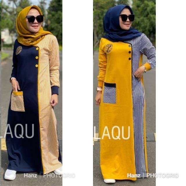 Gamis Zolaqu Ori Salur Combi Shopee Indonesia