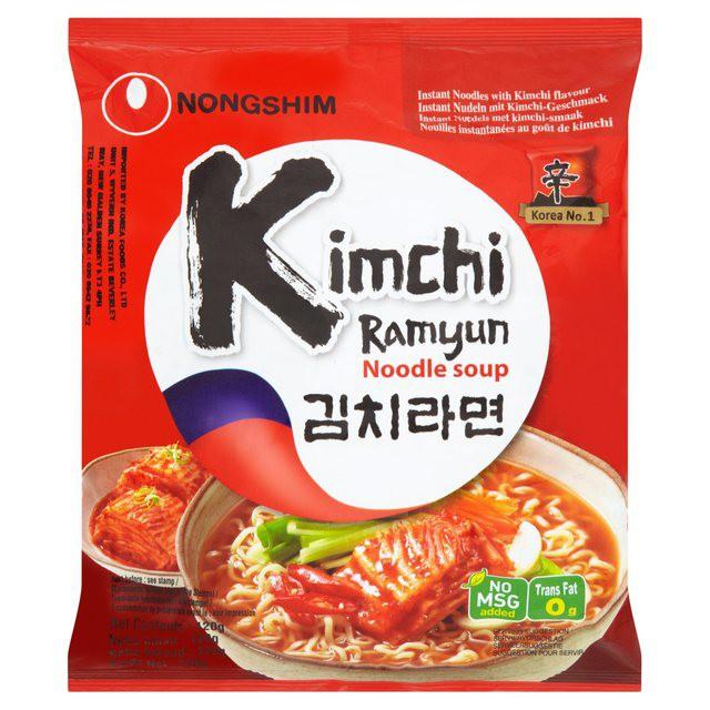 Kimchi Ramen Nongshim Mie Instan Impor Korea Shopee Indonesia