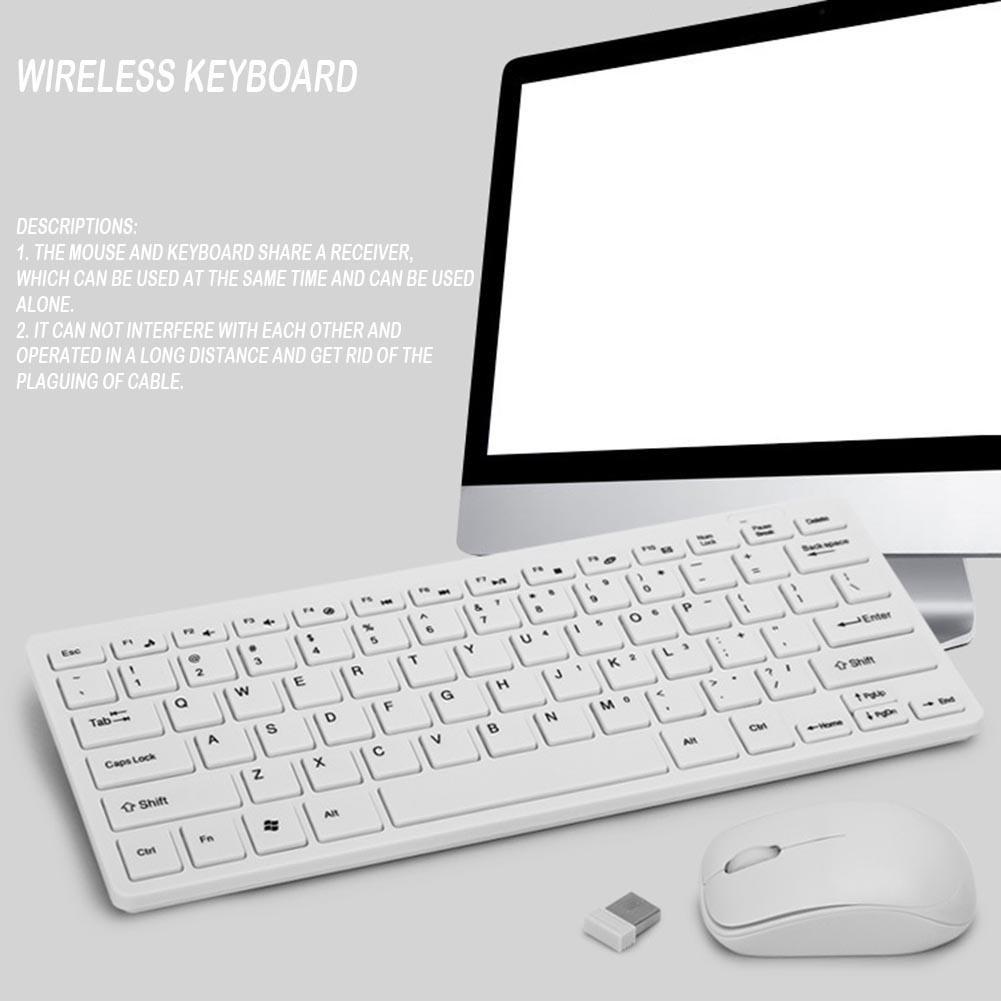 Set Keyboard Mouse Gaming Wireless 24g Untuk Pc Laptop Shopee Logitech Mk235 Combo Black Hitam Indonesia
