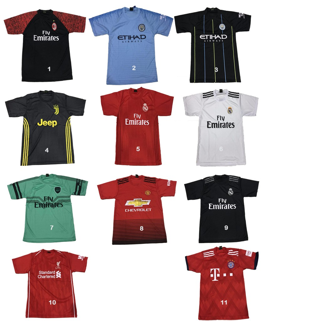 Jersey bola allsize fit M