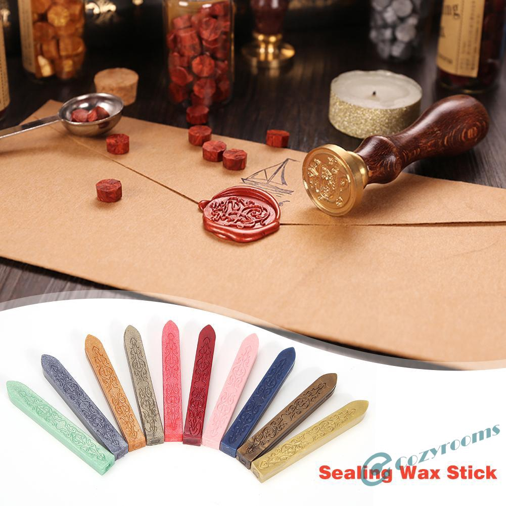 Ancient Retro Sealing Wax Stick For Diy Wedding Invitations Craft Decor Shopee Indonesia