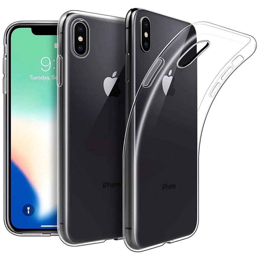 Ultra Thin Clear Transparent Soft Tpu Case Iphone X Xr Xs Max