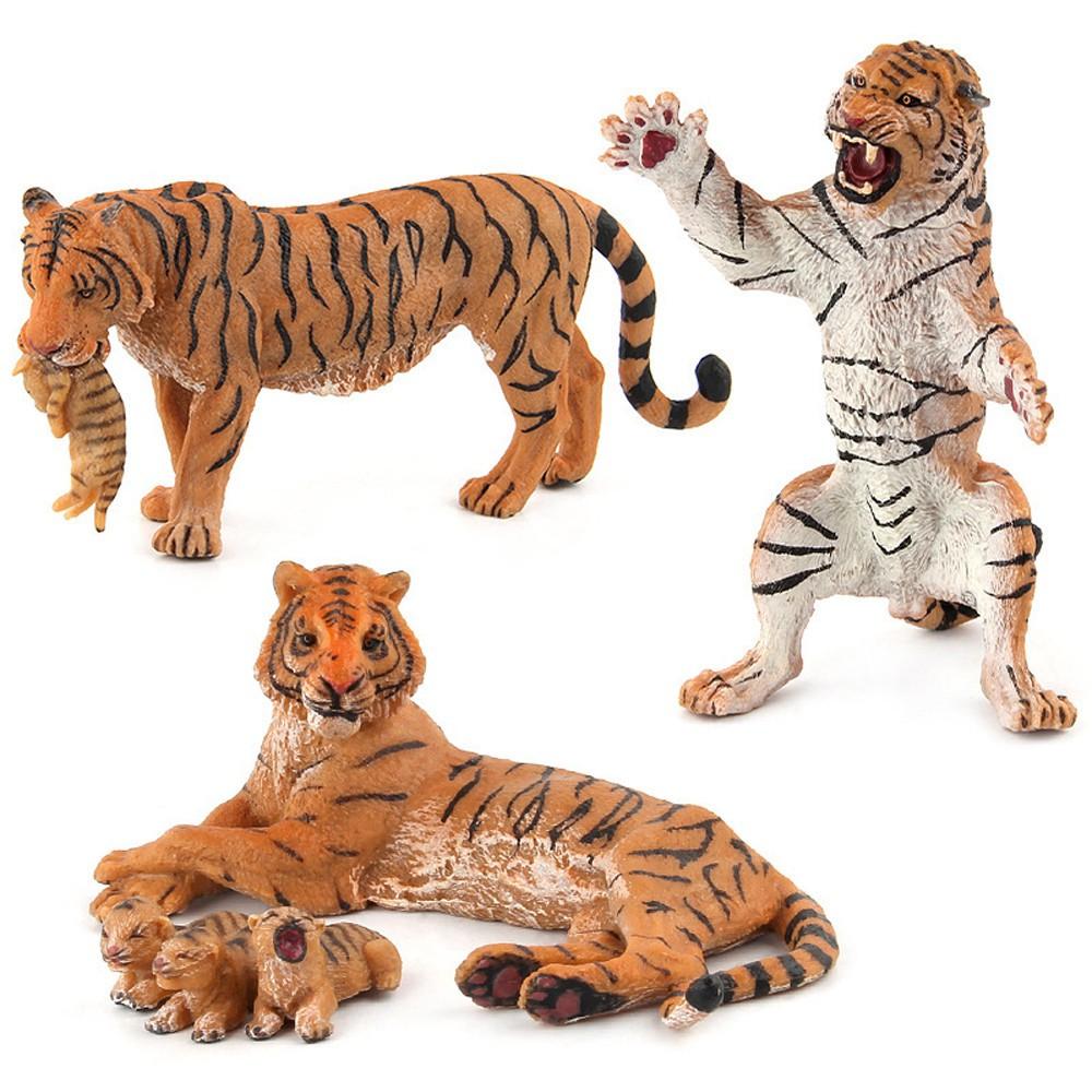 Model Hewan Harimau Untuk Mainan Edukasi