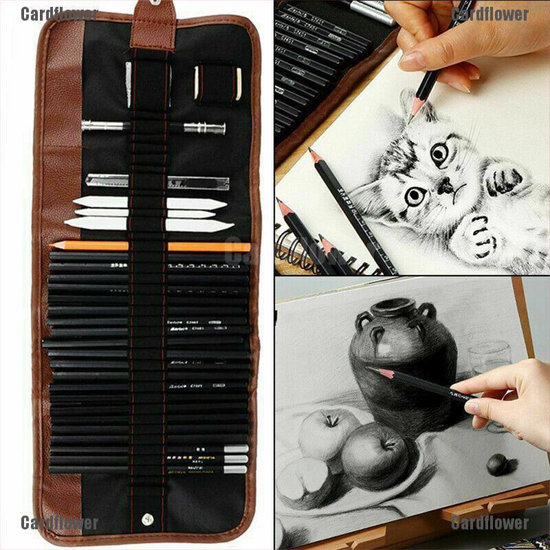 14PCS 6H-12B For Artists Royal Soft Chic Sketching Sketch Art Drawing Pen Hot