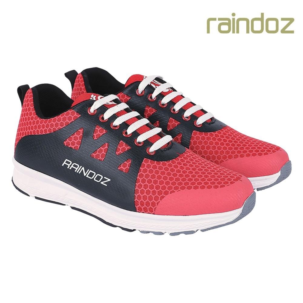 RAINDOZ Sepatu Sneakers Merah Pria Original RDF 037 d5ee595e69