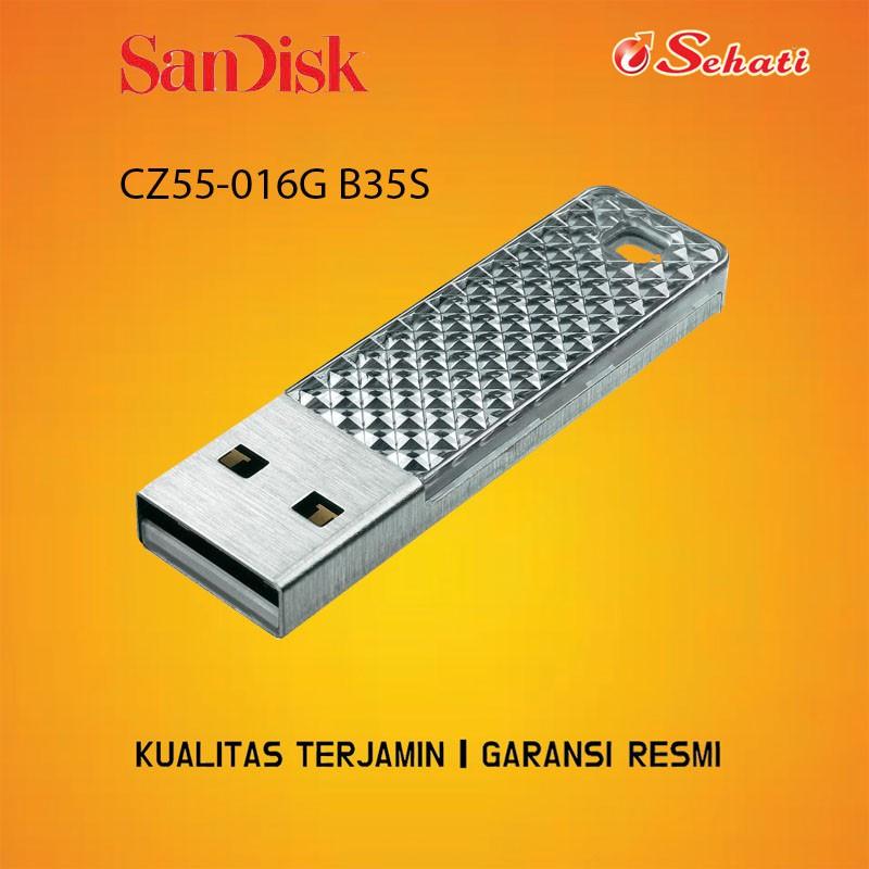 Flashdisk 16GB Sandisk CZ55-016G B35S