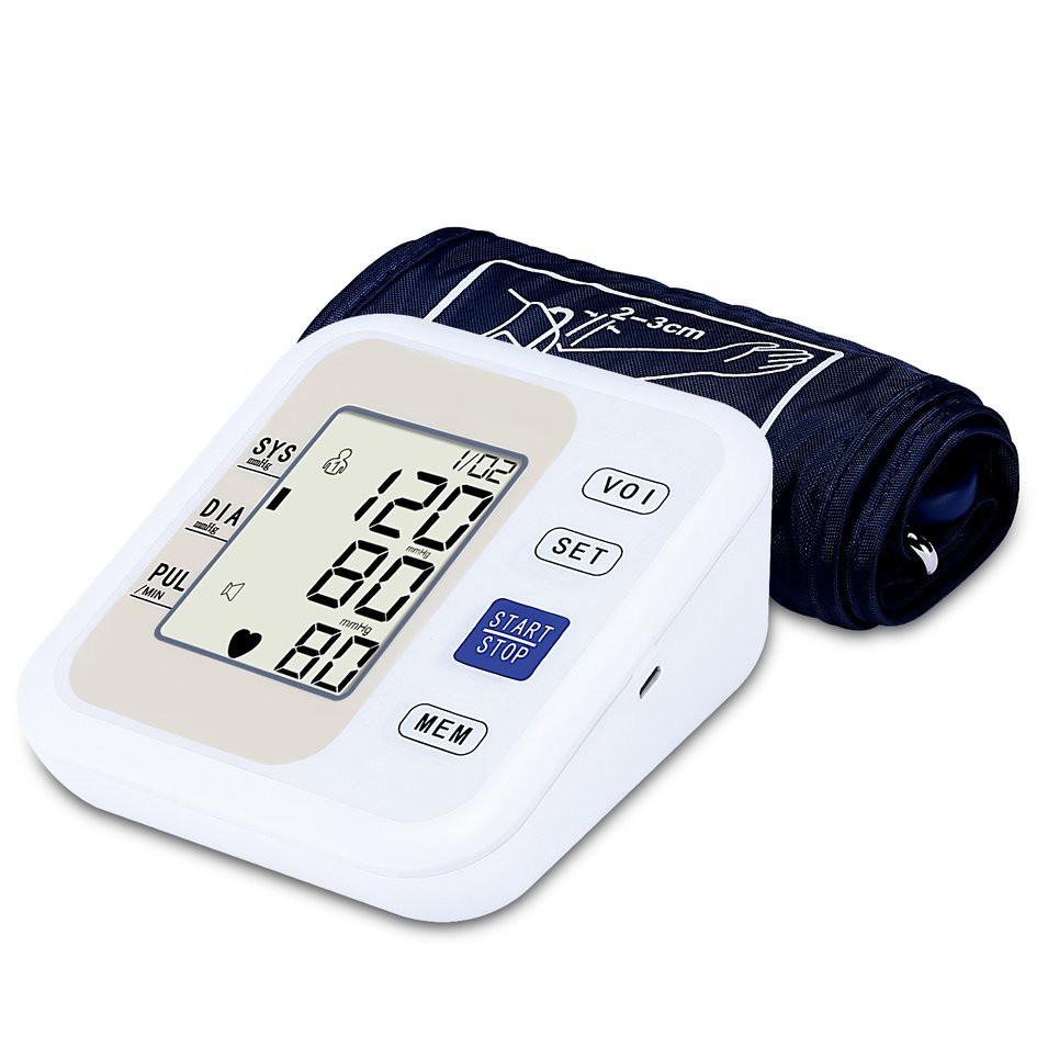 Bds Tensimeter Pengukur Tekanan Darah Digital Dengan Layar Lcd Warna Alat Kesehatan Tensi Blood Pressure Monitor Putih Shopee Indonesia