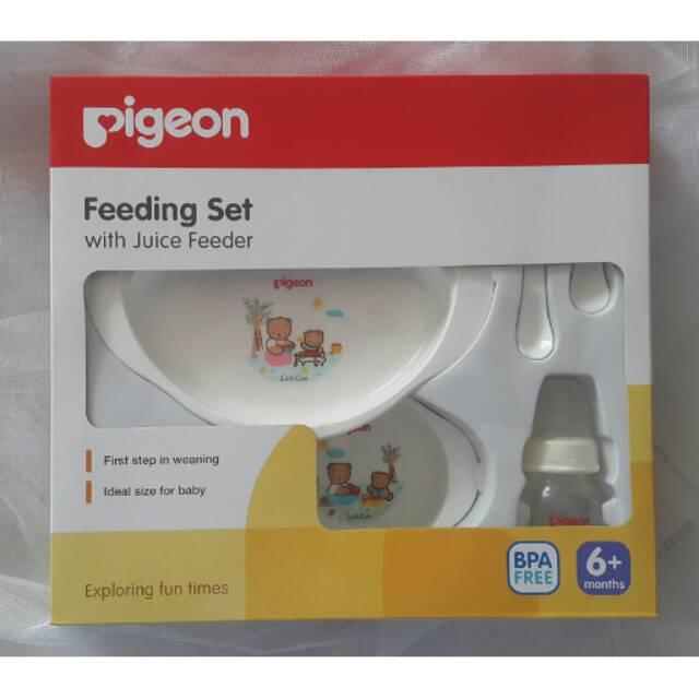 feeding set pigeon - Temukan Harga dan Penawaran Perlengkapan Makan Bayi Online Terbaik - Ibu &