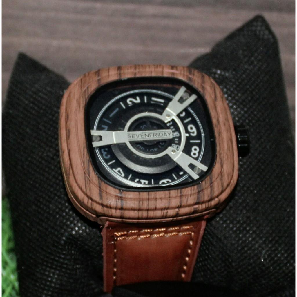 Jam Tangan Expedition E6691 Black Leather Brown Original Shopee E6372 Indonesia