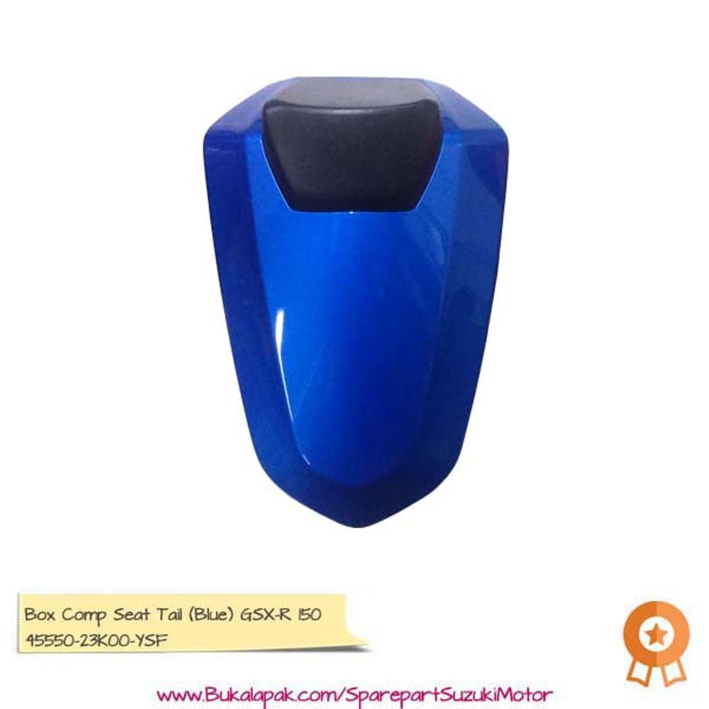 Promo Single Seat Box Comp Tail Blue Aksesoris Gsx R150 Diskon Cover Tanki S Berkualitas Shopee Indonesia