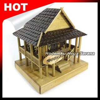 7700 Koleksi Gambar Rumah Panggung Dr Bambu Gratis Terbaik