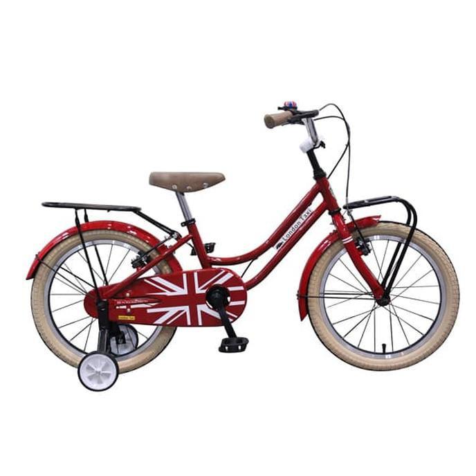 HARGA TERBAIK Sepeda Anak London Taxi Kids Bike 18 Inch