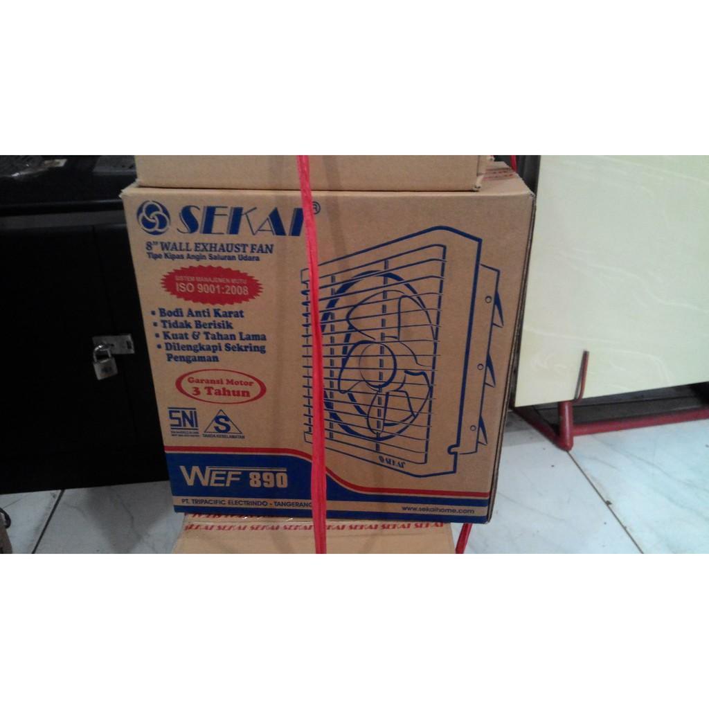 Promo Spesial Kipas Angin Exhaust Fan Dinding Tembok Sekai Wef890 Wef 890 8 Wall Berkualitas Shopee Indonesia
