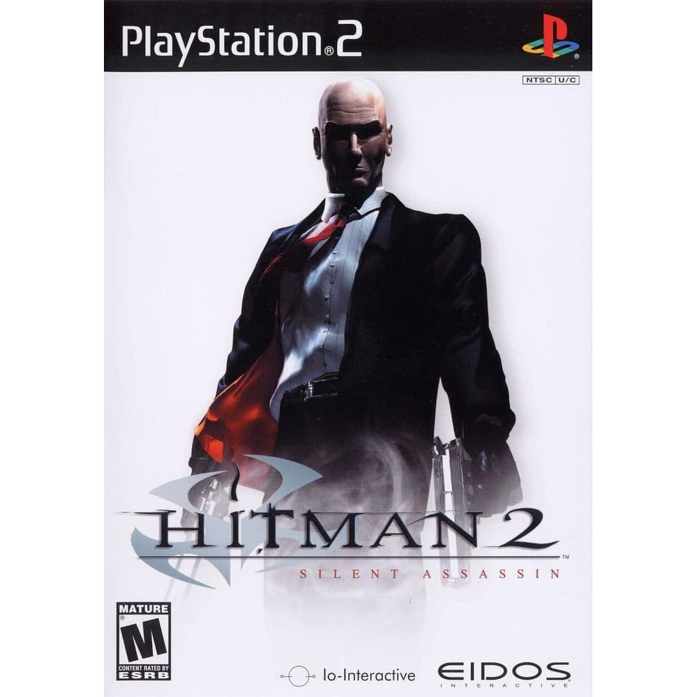 Cd Game Dvd Game Ps2 Hitman 2 Silent Assassin Shopee Indonesia