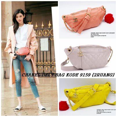 Chanel Belt Bag   tas pinggang wanita 1120   8809  9159 kulit semipremium  1kg muat 3pis  678c7d300d