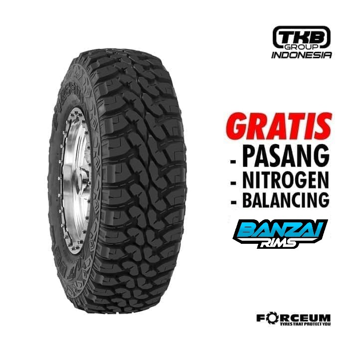 Ban Mobil Offroad 235/75 R15 FORCEUM M/T 08 Ring 15 Ban Pacul