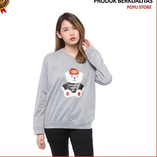 J25v Sweater Simple Original Outer Keren Cewek Ala Korea D9s0 Perempuan Awet Kekinian Murah Wanita Shopee Indonesia