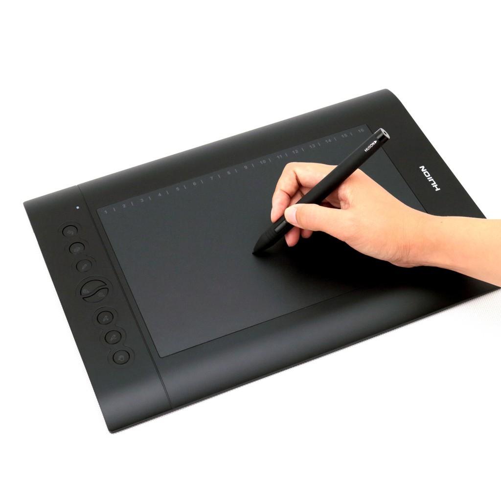 Huion P68 Pena Tablet Gambar Grafis Nirkabel - Putih (1 x AAA) | Shopee Indonesia