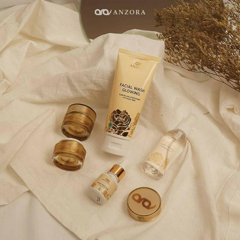 FREE ONGKIR Anzora glow Anzora acne skincare anzora | night cream anzora | day cream anzora | serum
