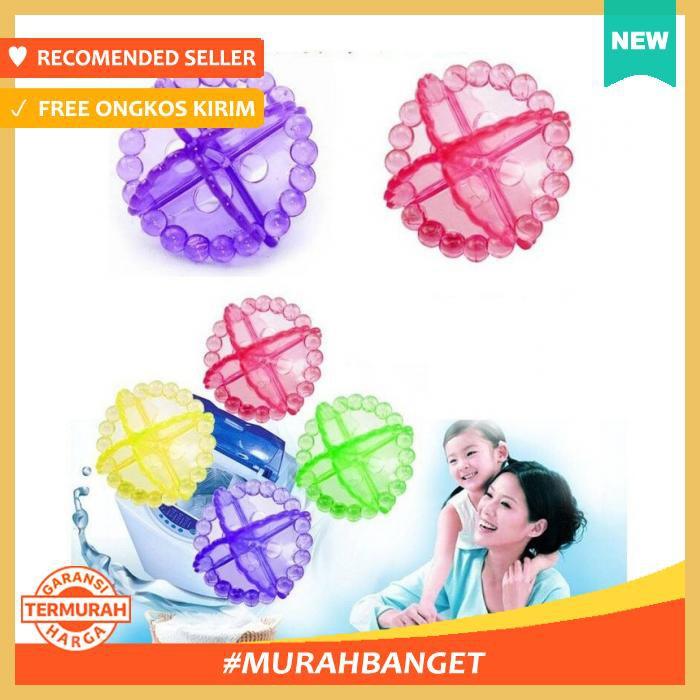 Clean Ball Magic Super Washing Bola Ajaib Pencuci Baju Mesin Cuci Wash Laundry Washing Ballz |