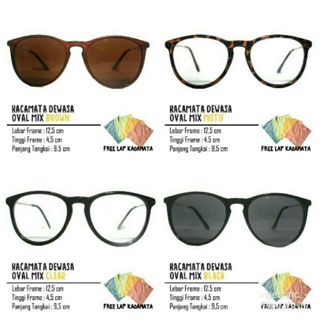 KCF.44 kacamata kotak frame minus OWL frame kacamata minus super ... c4f544ed43
